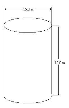 finne høyden i en sylinder